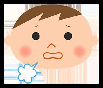 【画像】咳のイラスト